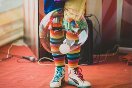 Nozze a tema circo per un evento dai mille colori
