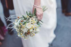 Bouquet da sposa per nozze rurali