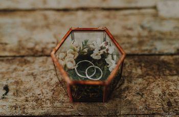 Date un tocco vintage alle vostre nozze con questi 7 portafedi old style