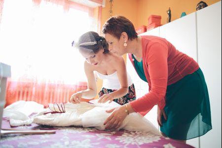 Consigli per mantenere perfetto l�abito da sposa