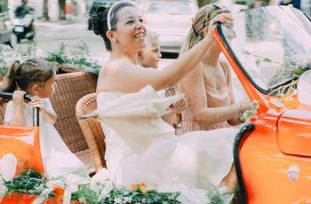 Orange is the new Pink: tante idee per le vostre nozze in arancione!