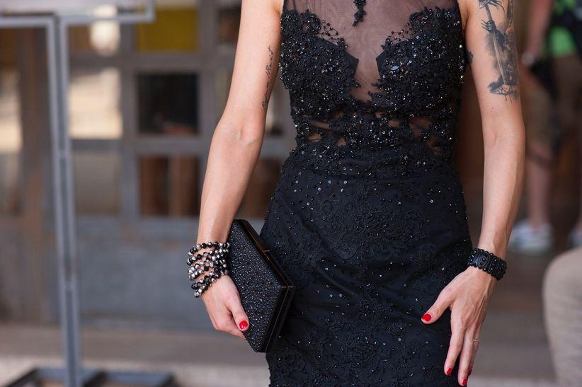 Matrimonio In Nero : Back to black! il trionfo del nero in 45 abiti da cerimonia