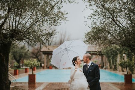 Piove, senti come piove... niente paura c'è l'ombrello!