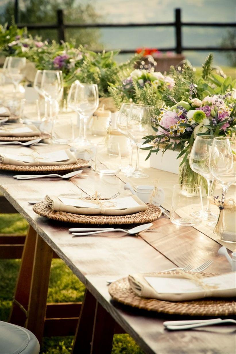 Decorazioni Matrimonio Rustico : Tendenze per le decorazioni di nozze temi e spunti