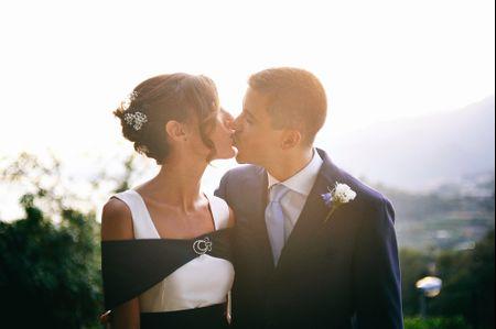 Tendenze 2017: un tocco di nero per l'abito della sposa!