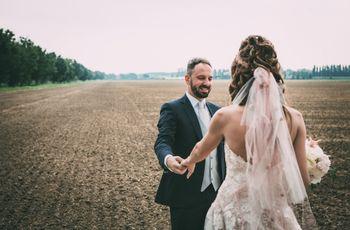 Abiti da sposa colorati: 40 modelli per le personalità più audaci