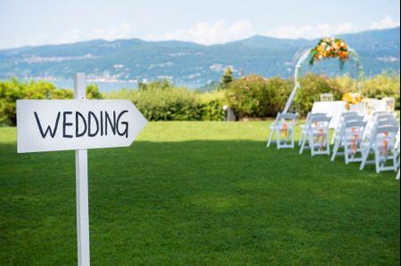10 domande fondamentali per organizzare un matrimonio all'aperto impeccabile