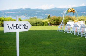 10 domande fondamentali per organizzare un impeccabile matrimonio all'aperto