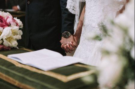 I diversi officianti del matrimonio