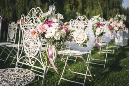 10 punti dove potrete posizionare i fiori al vostro matrimonio
