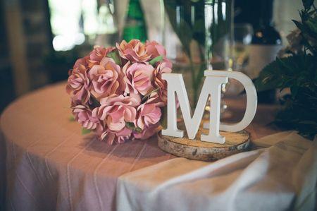 Decorate il vostro matrimonio con le lettere: dalla A alla Z!