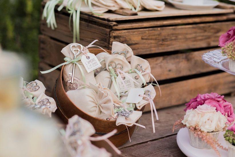 Le migliori idee per le vostre bomboniere di matrimonio for Idee originali per testimoni di nozze