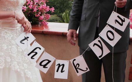 Come scrivere i biglietti di ringraziamento dopo le nozze
