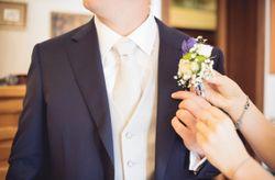 Fiore all'occhiello secondo la personalità dello sposo