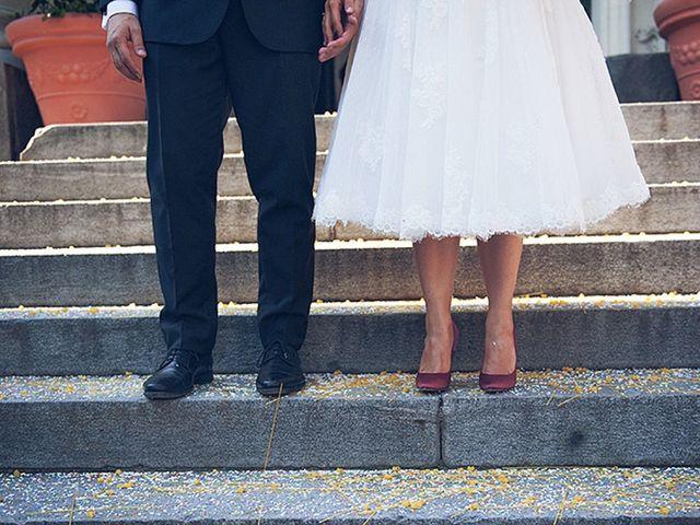 35 abiti da sposa midi dal sapore retrò chic