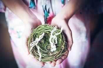 Portafedi per matrimonio rustico: l'oggetto indispensabile il vostro momento speciale