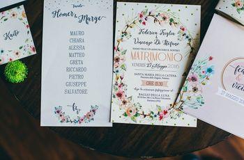 Quando consegnare le partecipazioni di nozze