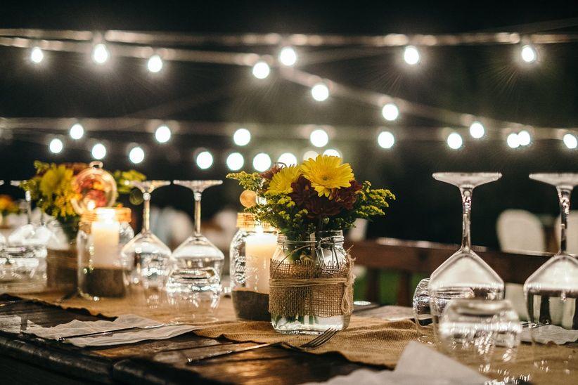 Idee Per Matrimonio Rustico : Idee di centrotavola originali per un matrimonio rustico