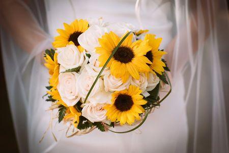 Bouquet Sposa Con Girasoli.Matrimonio Con Girasoli 43 Idee Da Non Farvi Sfuggire