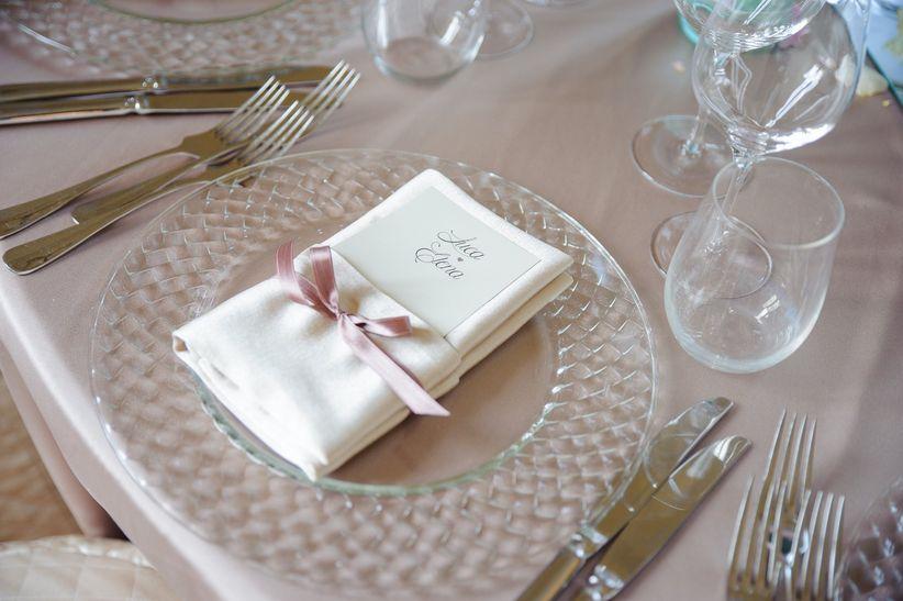 Segnaposto Matrimonio Azzurro : Segnaposto portatovagliolo matrimonio kwckranen