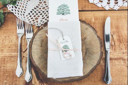 Decorazioni con i tronchi: idee ad hoc per le nozze eco-chic