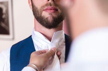 Come abbinare gli accessori in base alla scelta del vestito per lo sposo