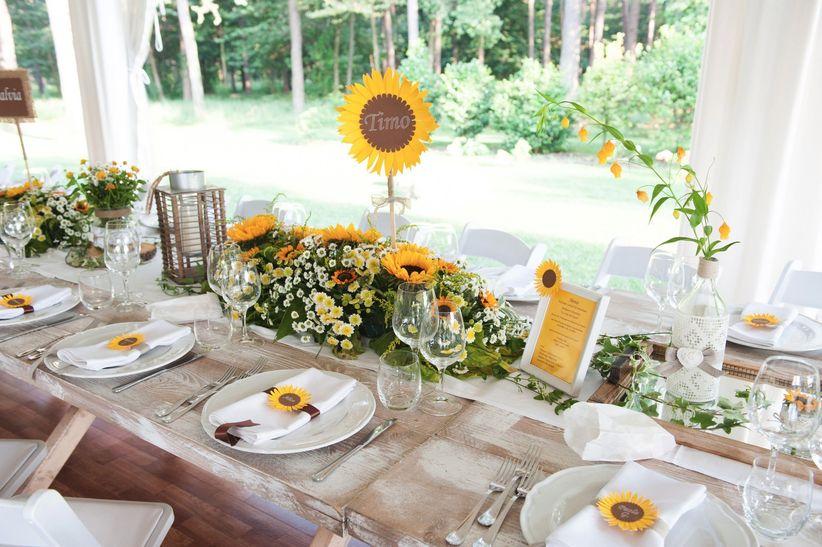 Matrimonio Coi Girasoli : Matrimonio con girasoli idee da non farvi sfuggire