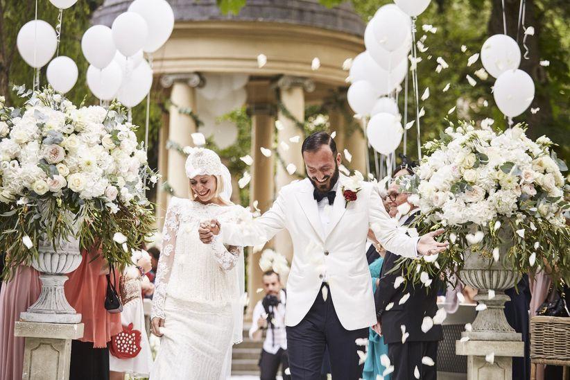 Addobbi Floreali Matrimonio Rustico : Decorazioni per matrimonio civile: 40 spunti per creare unatmosfera