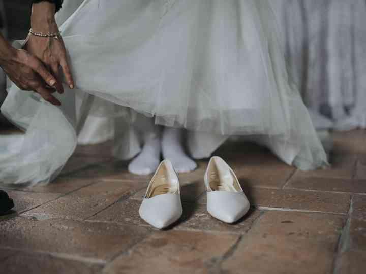 a basso prezzo 82ccc d02fa Scarpe basse per la sposa: 40 modelli che vi sorprenderanno