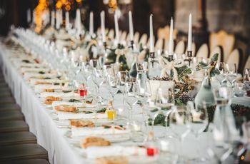 10 consigli utili per strutturare il vostro menù di nozze invernale