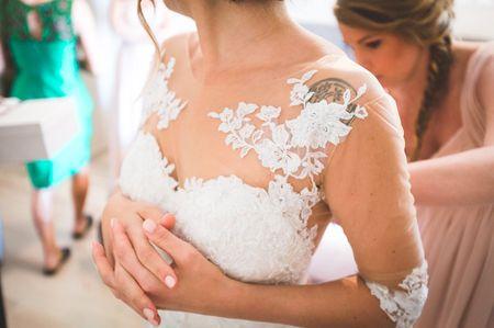 6 semplici regole per valorizzare il décolleté con l'abito da sposa