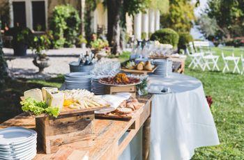 Wedding Buffet: come organizzarlo in modo pratico e chic
