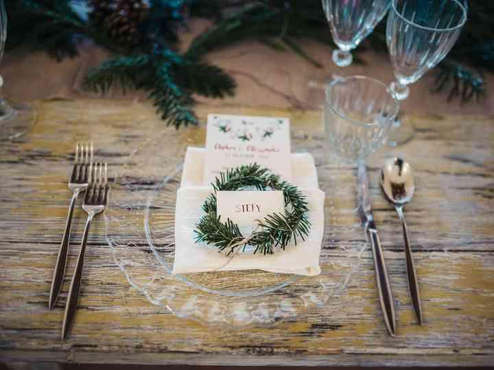 10 idee per i vostri segnaposto a tema natalizio