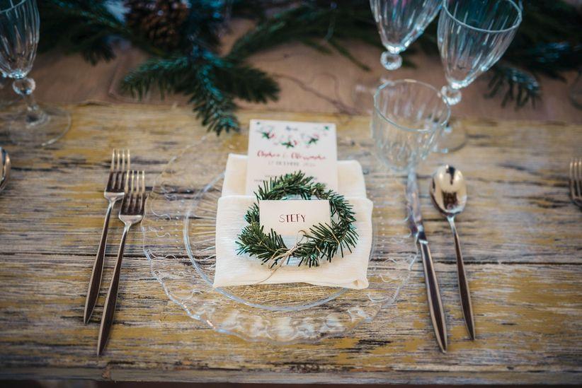 Segnaposto Matrimonio Natalizio : Idee segnaposto a tema natalizio