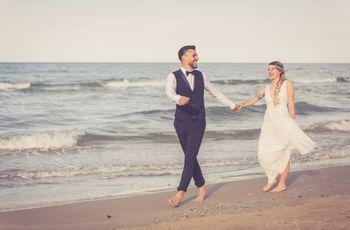10 suggerimenti per immortalare il vostro beach wedding