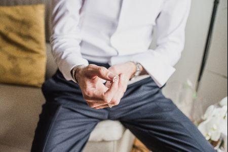 I gemelli per lo sposo, un accessorio elegante che non passa mai di moda