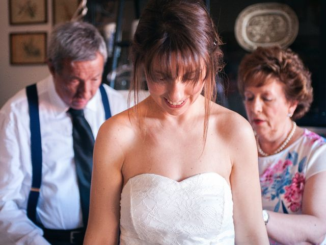 35 Acconciature da sposa per chi porta la frangetta