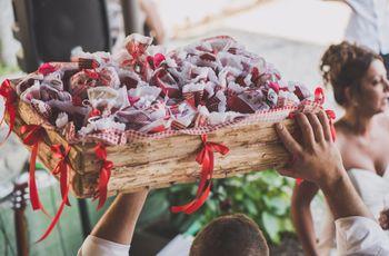 65 idee per un bellissimo matrimonio in bianco e rosso
