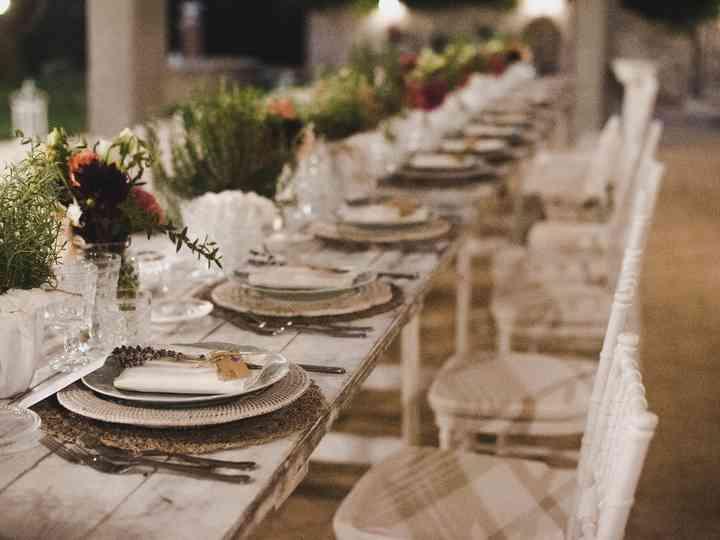 10 modi originali per decorare i tavoli del vostro banchetto
