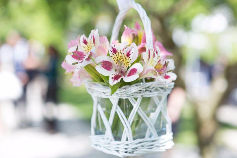 Allestimenti floreali in stile soft romantic che non - Decorazioni sospese ...