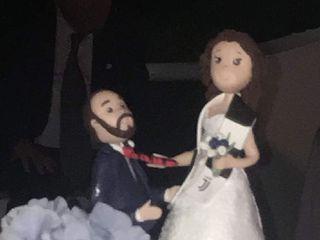 Topper di matrimonio di Caramel's Cake 2