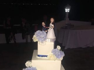 Topper di matrimonio di Caramel's Cake 3