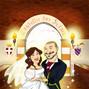 Le nozze di Eleonora e Riccardo e Anabelarte - Caricaturista 16