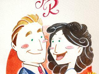 Chiara Zen - Wedding Cartoon 4