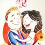 Le nozze di Roberta Rigodanze e Chiara Zen - Wedding Cartoon 9