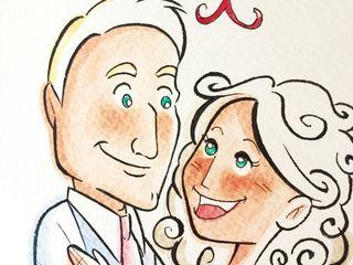 Chiara Zen - Wedding Cartoon 5