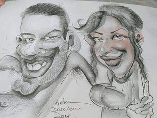 Andrea Damiani caricature 3