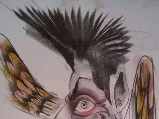 Andrea Damiani caricature 4