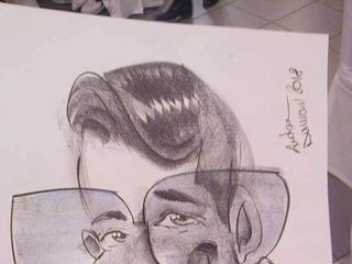 Andrea Damiani caricature 5