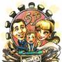 Le nozze di Simona Zerbinati e Caricature X Eventi 6